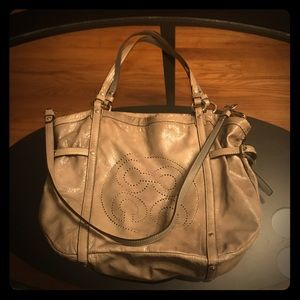 OFFERS?? Coach patent leather shoulder/crossbody